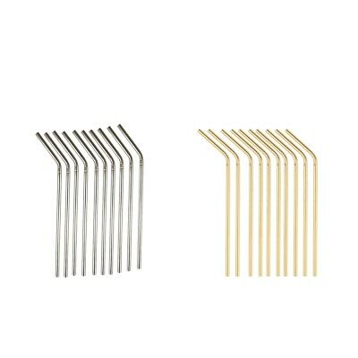 Rose Gold Stainless Steel Food Grade 304 Stainless Steel Metal Straw Q5A5