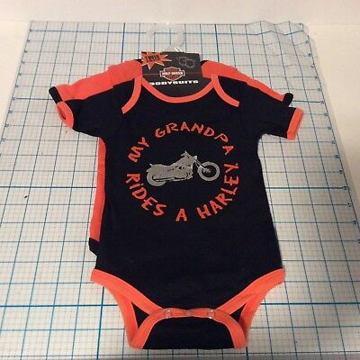 HARLEY DAVIDSON Baby Boy 2-Pack BODY SUITS (9-12month) - NWT