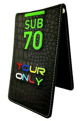 2018 Limited Edition SUB70 Tour Issue Only Golf Scorecard Yardage Book Holder