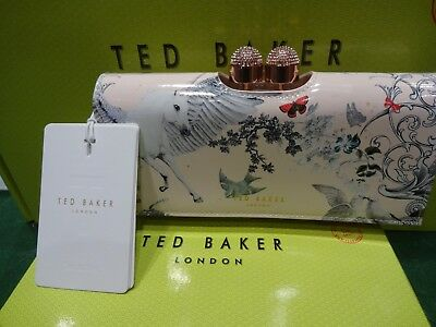 916db21b290 New With Box & Tags Ted Baker Maycie Enchanted Dream Unicorn Matinee Purse  Rare