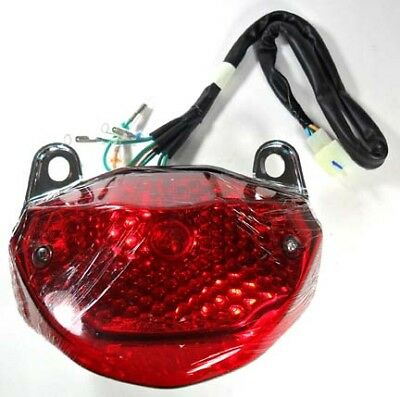 Tail Light ETON Sport 50 Scooter 5 Pin in 6 Pin Female Jack + 6 Wires Holes