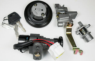 Ignition Switch Fits Many 50-150 Scooters With gas Cap 5 Pin with 6 Pin FM Jack
