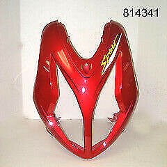 Front Headlight Cover (Red) w/Graphic