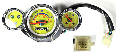 Speedometer Instrument Cluster 8 Wire In A 9 Wire Female Jack