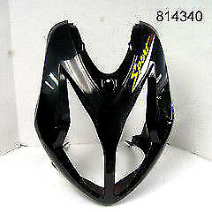 Front Headlight Cover (Black) w/Graphic