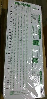 Pdp 100 Scantron Compatible 882-E 100 Question Double Sided Test Forms 100 Pack