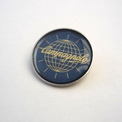 Vintage Style, Campagnolo World Pin, 1960s, 70s, Cap, Lapel, Bag Badge, Repro