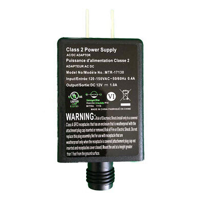 MTR-17130 Replacement 1.0a AC Adapter Inflatables Fan and Light Show Accessories