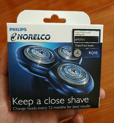 1 X Philips Replacement Shaver Head Foils For Norelco RQ10 RQ12 SensoTouch 3D