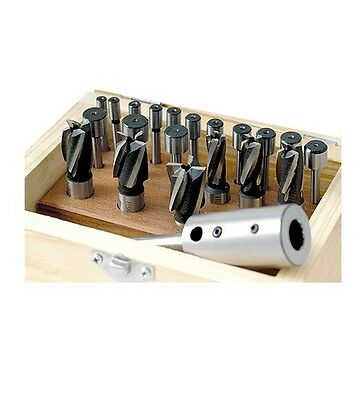 21 Piece Hss Interchangeable Pilot Counterbore Set