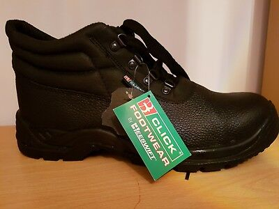 64a9222dff5 CLICK CDDCMSBL CHUKKA Safety Work Boots Steel Toe Cap & Midsole ...