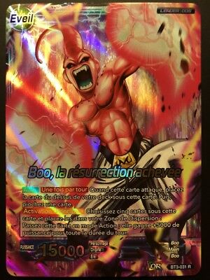 Carte Dragon Ball Super BOO, LA RESURRECTION ACHEVEE BT3-031 R DBZ FR NEUF