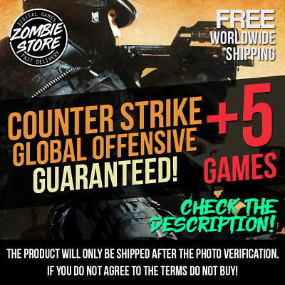 Counter Strike Global Offensive (EU Only) + 5x Random Steam Key - Fast Delivery!