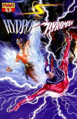 Project Superpowers #4 Hydro & Pyroman Dynamite NM
