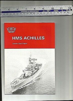HMS Achilles F12 Leander Class Embroidered Baseball Caps