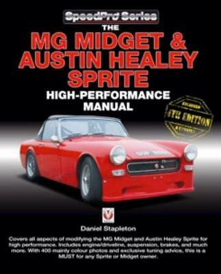 MG Midget & Austin Healey Sprite High Performance Manual New Book All Models
