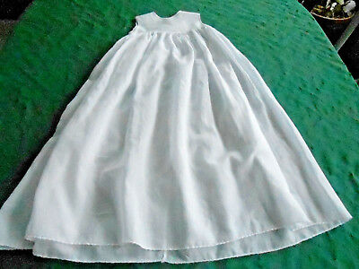Antique White Baby Slip, Great For A Long Christening Dress, 1900