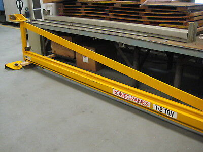 Kone 1/2 Ton Jib Crane - Wall/Column Mounted