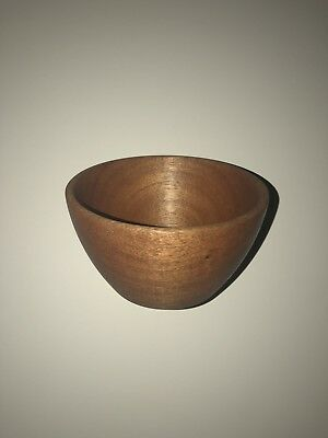 Handcrafted Mahogany Wooden Bowl