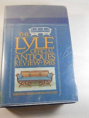 The Lyle Official Antiques Review, 1983 by Anthony Curtis (1982, softcover, DJ)