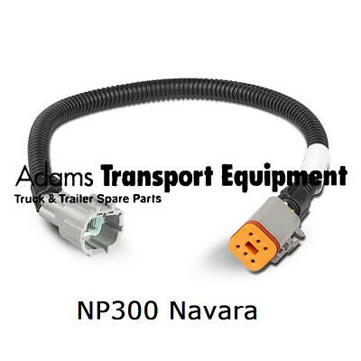 LED Autolamps Nissan Navara NP300 Tray Conversion Patch Leads - 2pk - 2013-18