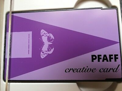 Pfaff Creative Fantasy Re-Writable Embroidery Memory Card