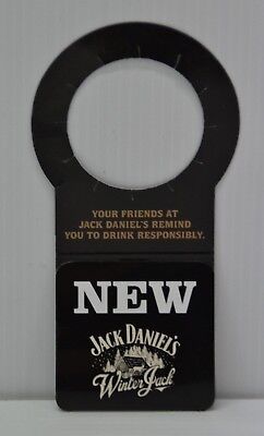 Jack Daniel's Winter Jack Tennessee Cider Brand New Collectible Bottle Neck Card