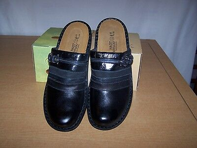 Naot BELIZE Black Slip on Shoes Size 41  NEW in Box
