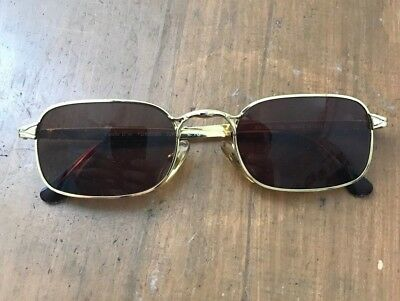Vintage 22kt Gold Plated Sunglasses. Beautiful Condition!