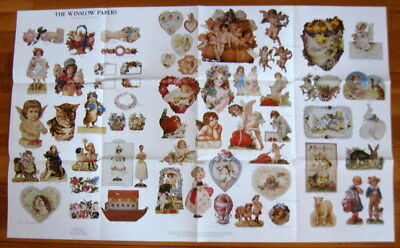 1980s WINSLOW PAPERS Marketing Poster CARDS GIFT ENCLOSURES Everyday & Holidays
