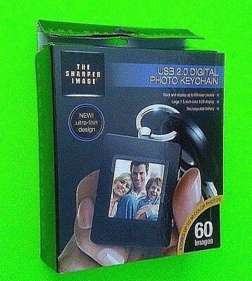 Keychain The Sharper Image USB 2.0 Digital Photo Keychain