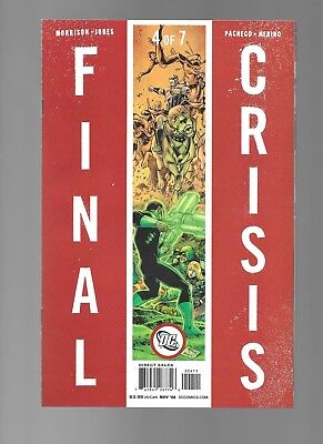 Final Crisis #4 (Nov, 2008) DC Comics 1st Print by Grant Morrison VF/NM 9.0