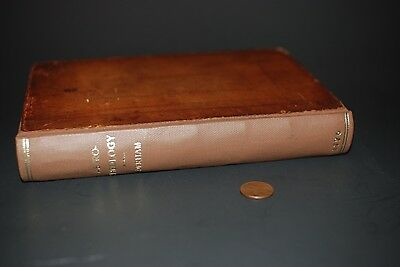 VINTAGE RARE BOOK Antique 18Th-Century Astro-Theology 1726