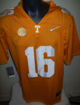 Tennessee VOLUNTEERS #16 Eli MANNING Jersey  ORANGE  M L XL 2X 3X Clear out!
