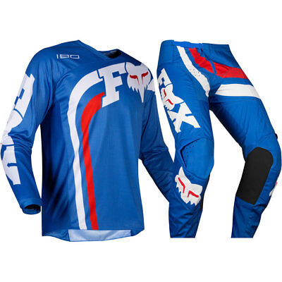 NEW Fox 2019 Youth MX 180 Cota Blue Jersey Pants Kids Motocross Gear Set
