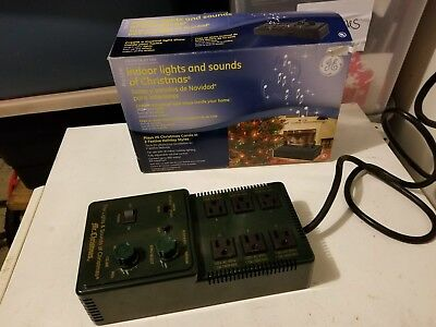 mr christmas lights and sounds of christmas indoor unit with box lightly used