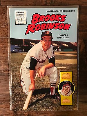 "Magnum Comics ""BROOKS ROBINSON"" Baseball Comic Book, May 1992, #1, FIRST ISSUE!"