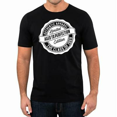 50th Birthday Gift Present Year 1969 Aged To Perfection Funny Unisex T-Shirt