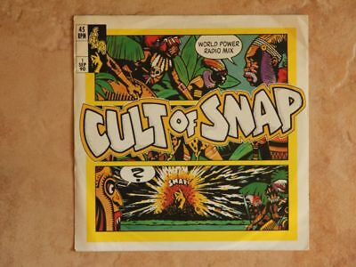 """Snap! / Cult of Snap 7"""" Single"""