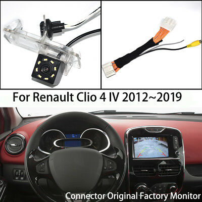 CCD Car Rear View Parking Reverse Backup Camera for Renault Clio 4 IV 2012~2018