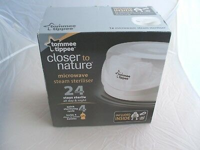 Tommee Tippee Closer to nature Microwave STEAM STERILISER *BRAND NEW*