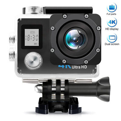 4K/30fps Ultra Wifi Sport Action Camera Helmet Cam DVR DV Camcorder Waterproof