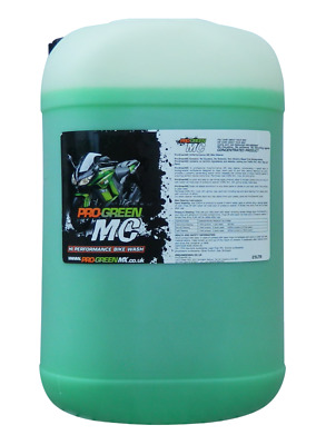 Pro Green MC 25 Litre Concentrated Motorcycle Wash Road Bike
