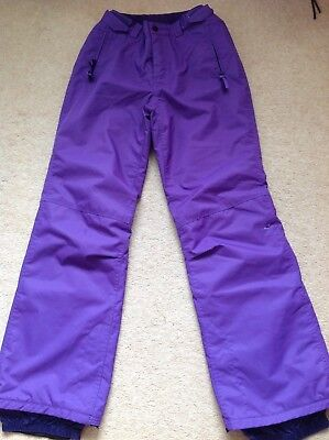 6addd36c36 O neill Fifty 2 Series Snowboarding Ski Trousers Size Uk 8-10 Excellent  Conditio
