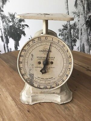 Antique Vintage Kitchen Scale LANDERS, FRARY & CLARK, Made in USA