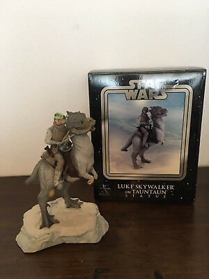 Star Wars Gentle Giant Luke Skywalker on Tauntaun