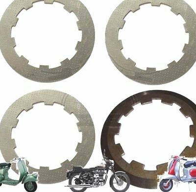 Lambretta Gp Li Sx Tv 3 Clutch Steel Plates With Top Plate @au