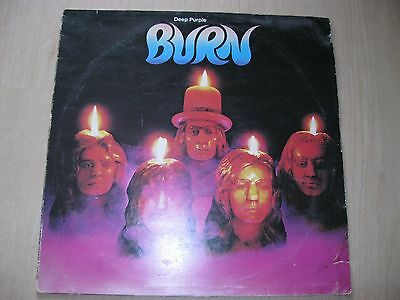 "Deep Purple -""Burn"" - Vinyl TOP!! -LP Griech.Origin.1974-Harvest-TPS-3505"