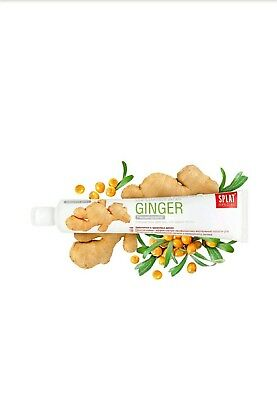 1 Box SPLAT special  Ginger mint  Toothpaste, gently whitens your teeth free pp