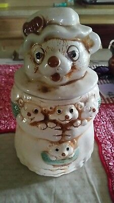 Antique Animal Cookie Jar